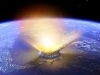 Asteroid hit may reduce earth life