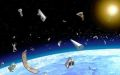 NASA tried to remove space debris